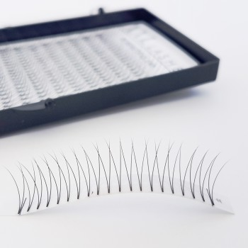 V-Lashes – 2D – 320 piezas sin anudar, suaves y ligeras