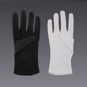 Guantes de algodón - en blanco y negro