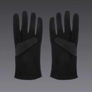 Guantes de algodón - en negro