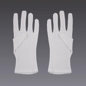Guantes de algodón - en blanco