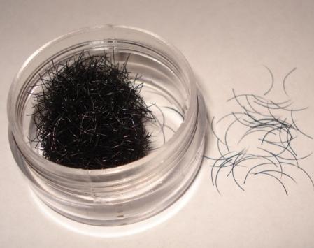 C-Curl Pestañas Premium | 0,15 mm de espesor | de 15 mm de longitud
