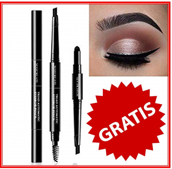 3in1 Eyebrow Pen, lápiz de cejas 3en1