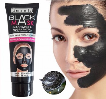Mascarilla negra purificante Sensinity para impurezas y puntos negros, 130 ml