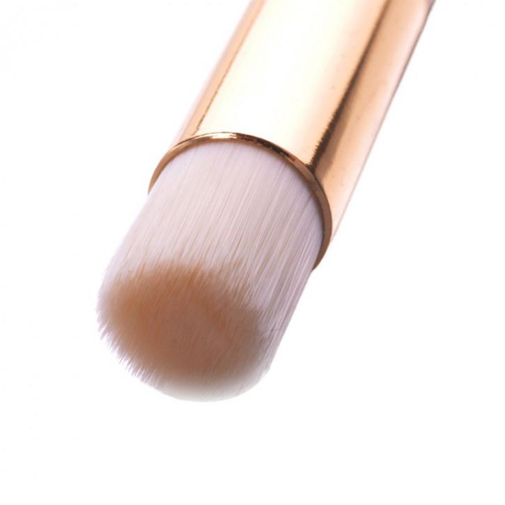 Cepillo de limpieza para extensiones de pestañas con champú de pestañas