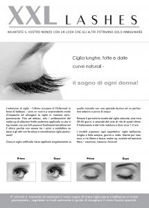 """100 pcs Flyer de promoción A5 - """"ojo"""" - Italiano, con dirección propia"""