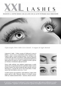 """500 pcs Flyer de promoción A5 - """"cara"""" - Italiano, con dirección propia"""