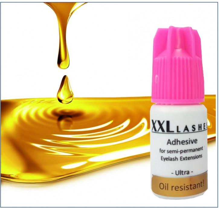 """Adhesivo para pestañas XXL Lashes xD """"Ultra"""", resistente al aceite, alta durabilidad, secado rápido, resistente al agua, 5 ml"""