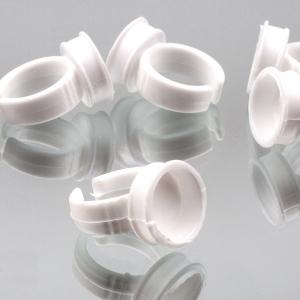 10 Anillos desechables para adhesivo