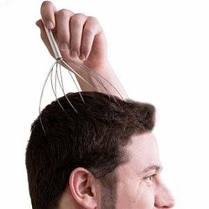 Rascador de cabeza, Masajeador capilar