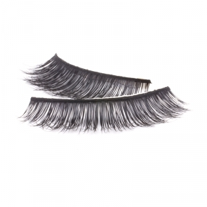 Handmade natural hair Mink Strip Lashes - Model 1