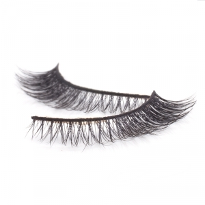 Handmade natural hair Mink Strip Lashes - Model 2