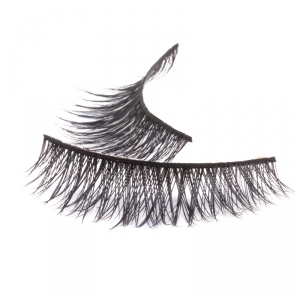 Handmade natural hair Mink Strip Lashes - Model 3