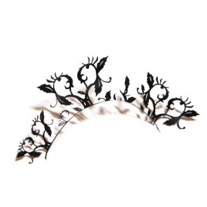 Pestañas de silueta - diseño 10 - peach blossom