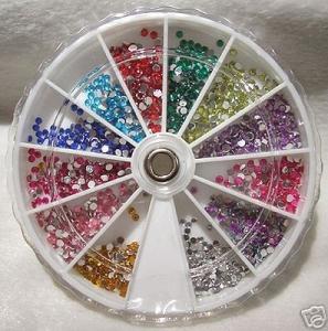 600 Cristales/Piedras de estrás