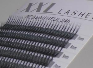 Pestañas W - 300 uds. | 0,10 mm de espesor | de 8-15 mm de longitud | C-Curl - (W10CM)