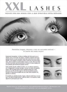 """100 pcs Flyer de promoción A5 - """"cara"""" - español"""