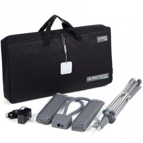 GLAMCOR Classic Elite Kit - HD Lámpara de luz diurna con cabezales dobles flexibles