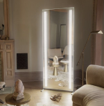 Glamcor FORTUNE & FAME Full Length Vanity LED Mirror