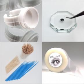 Kit de lujo XXL Lashes para extensiones de pestañas y estilistas de pestañas con productos de alta calidad, pegamento para pestañas, removedor ...