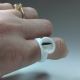 10 anillos de doble cámara para pegamento o pigmentos